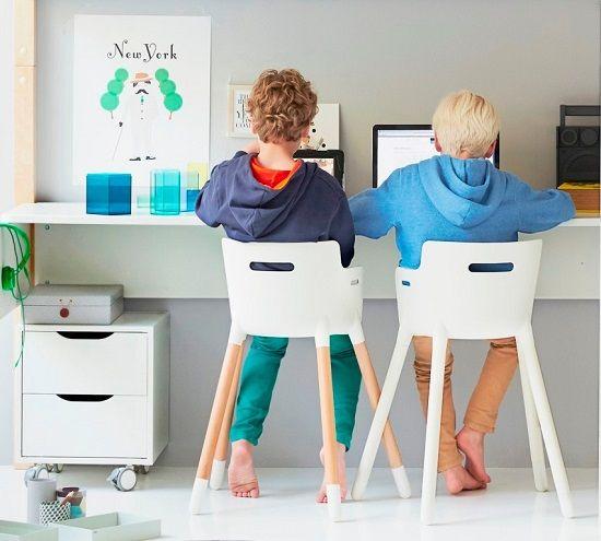 Escritorios para niños y mesas de estudio de Flexa- Mamidecora