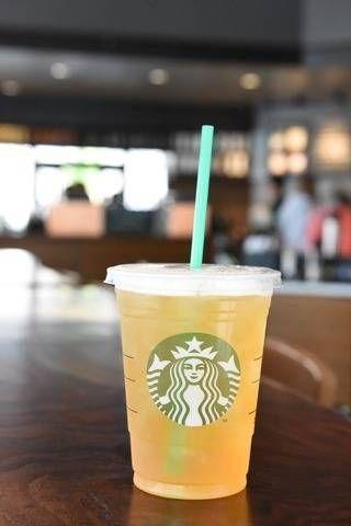 Mango Black tea Lemonade is my go-to | starbucks | drinks | healthy drinks