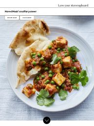 Waitrose Food March 2017: Naved Nasir's mattar paneer
