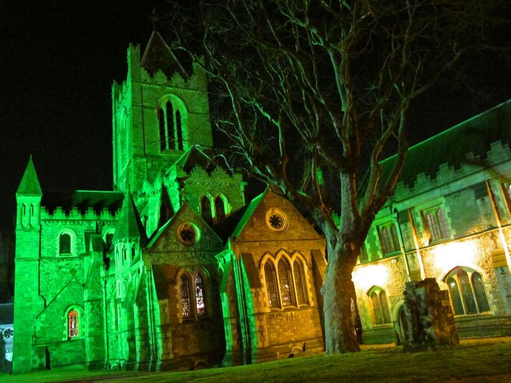 CHRISTCHURCH CATHEDRAL - The Parade continues past Christchurch Cathedral and along Patrick Street where it finishes just past St. Patrick's Cathedral! via @mydestinationdublin