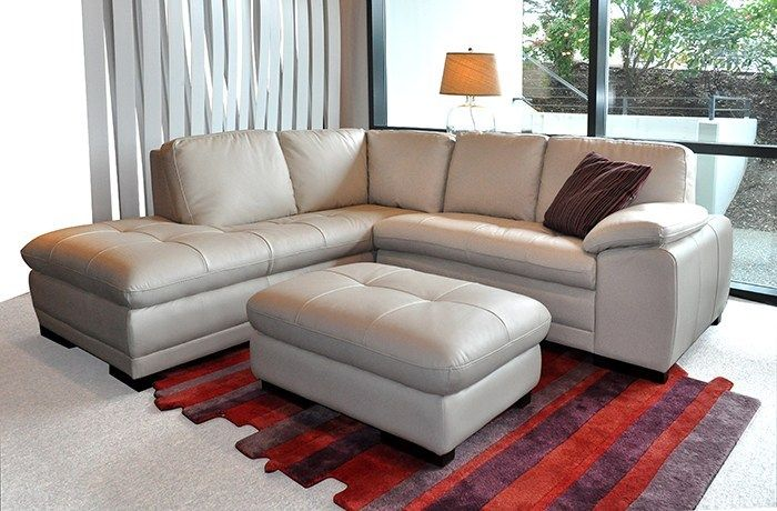 Violino Viggo Small Leather Sectional Scan Design Furniture Leather Sectional Sectional Furniture Design