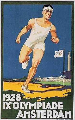 IXe Olympiade - Amsterdam - 1928 - (Joseph Rovers) -