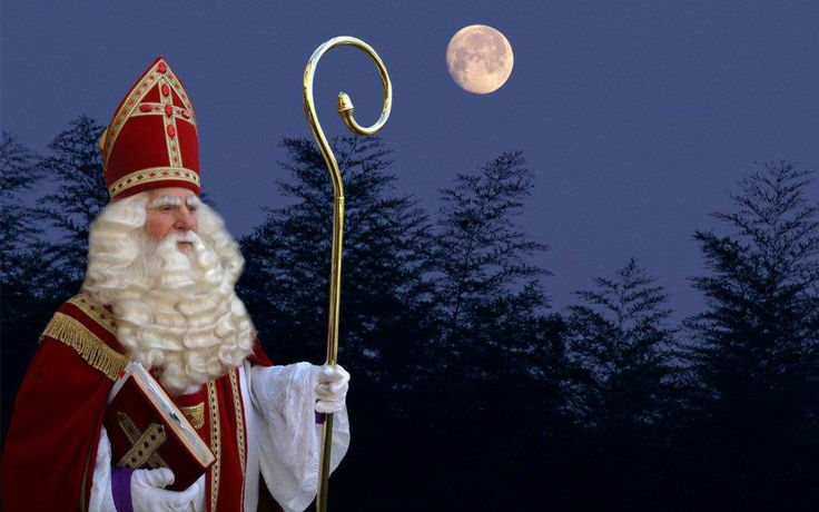 """Sinterklaas is a Dutch celebration every year at 5 December. Kids get presents from their parents believing it's Sinterklaas and his """"Zwarte Pieten"""" who gave them because they behaved well during the year. A little bit the same concept as Christmas."""