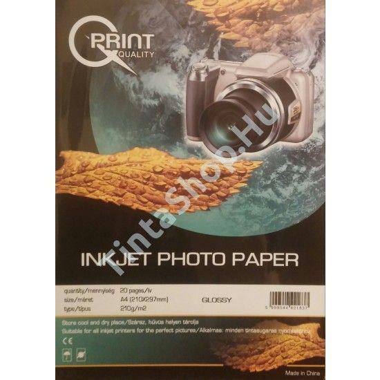 Q-Print A4/210 gr fényes fotópapír.  http://www.tintashop.hu/q_print_a4_210_gr_fenyes_fotopapir