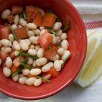 White Bean Salad_150sq #healthyrecipes