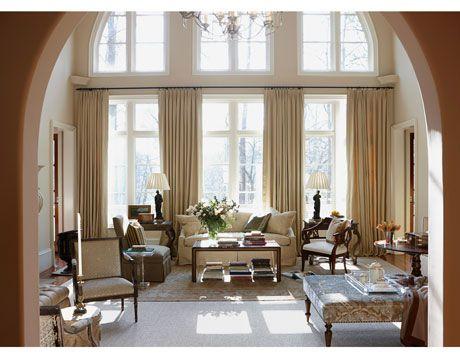 17 images about window treatments for large windows on - Living room window treatments for large windows ...