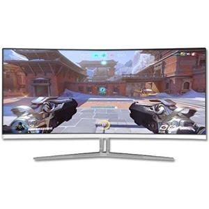 "#MicroBoard M340CLZ 34"" #WQHD 100HZ 3440x1440 AMD FREE Sync Curved #Gaming #Monitor"