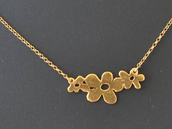 The Spring gold plated silver sterling gold by PlusLoveStudio - 38.00euro