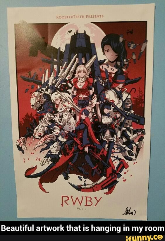 This is awesome!! RWBY poster