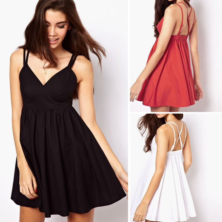 Sexy Spaghetti Straps Cocktail Dresses