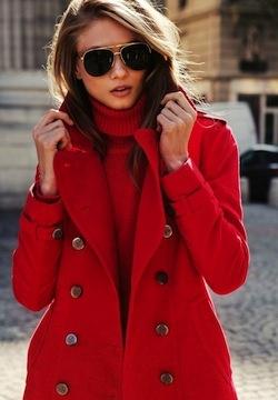 87 best 2dayslook Red Jacket/Coat images on Pinterest   Red coats ...