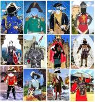 Вторая страница статьи - Европейский средневековый военный костюм, часть первая