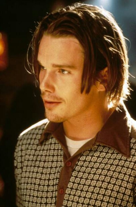 Ethan Hawke in Reality Bites: Ethan Reality Bites, Celeb Ethan Hawke, Ethan Hawke Reality Bites, Style, Movie, 90S, Childhood Crushes, Ethan Hawke Was, Ethan Hawke Troy
