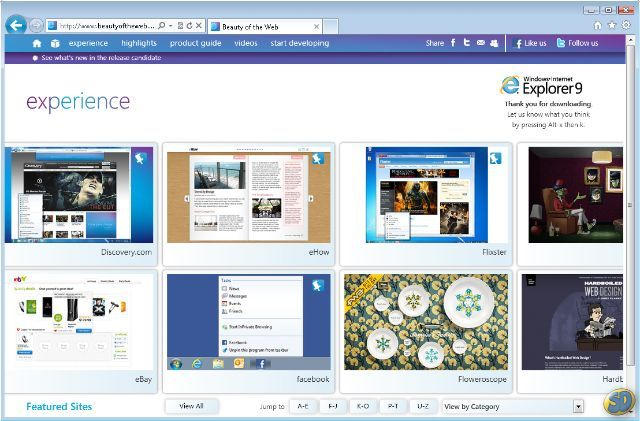 Download Internet Explorer 9 Windows xp Portugues gratis - http://www.baixakis.com.br/download-internet-explorer-9-windows-xp-portugues-gratis/?Download Internet Explorer 9 Windows xp Portugues gratis -         O Internet Explorer 9 atacou diretamente as críticas indicadas pela comunidade de desenvolvedores e por seus usuários, como a falta de compatibilidade com padrões de desenvolvimento Web e por trazer visual carregado. Desta vez, o navegador surge com um visual mui