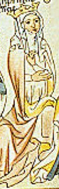 Agnes of Merania (d.1201). Queen of France from 1196 - 1200. She was the third wife of Philippe II. In June 1196 Agnes married Philip II of France, who had repudiated his second wife Ingeborg of Denmark in 1193. Pope Innocent III espoused the cause of Ingeborg; but Philip did not submit until 1200, when, nine months after interdict had been added to excommunication, he consented to a separation from Agnes. She died broken-hearted in July of the next year.
