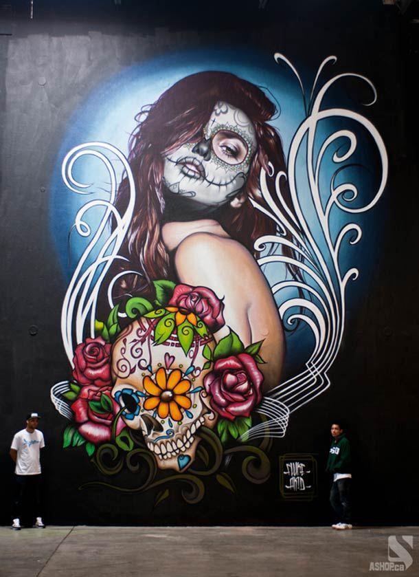Montréal Street Art – Les superbes fresques de A'Shop