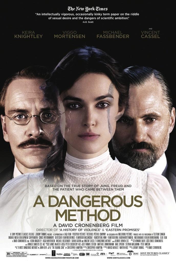 «A Dangerous Method», cine reprimido