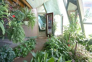 earthship conservatory