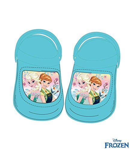 Disney die Eiskönigin Clogs / Sandalen für Mädchen - Badeschuhe - Gr. 26/27 - http://on-line-kaufen.de/die-eiskoenigin/26-27-eu-disney-die-eiskoenigin-clogs-sandalen-gr