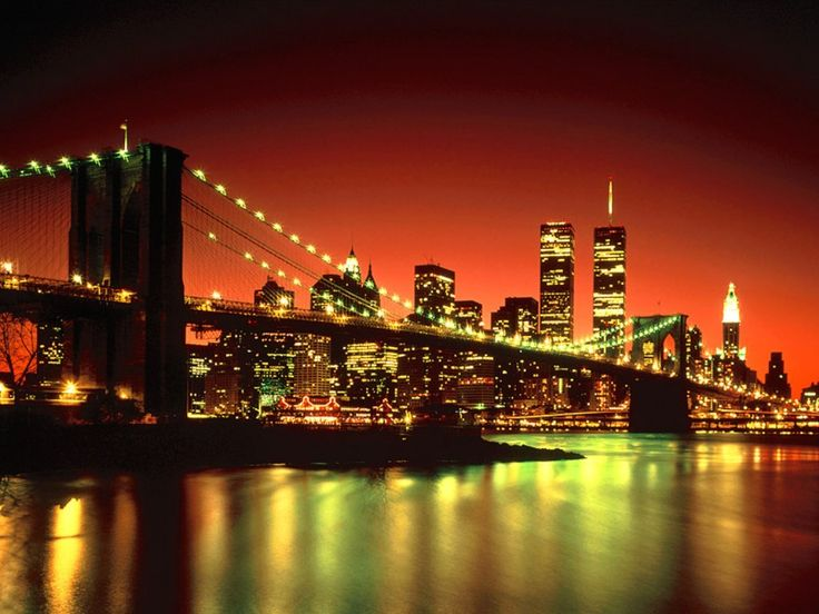 Who doesn't love NYC?Buckets Lists, Favorite Places, Big Apples, New York Cities, Brooklyn Bridges, Twin Towers, The Cities, New York City, Newyork