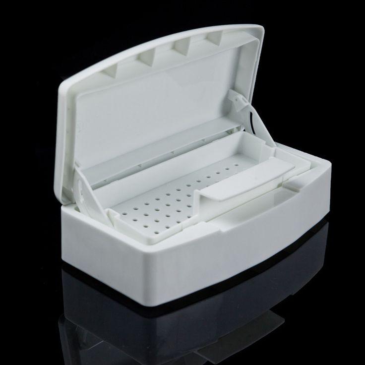 Pro ногтей пластиковые стерилизатор лоток http://ali.pub/uswy6 коробка дезинфекции салон красоты маникюр инструмент стерилизатор лоток купить на AliExpress