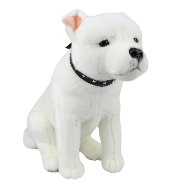 Title: Staffy Staffordshire Bull Terrier Brewster - Bocchetta Size: Measures 15 inch / 38cm Price: AUS$ 35.95 Brand : Bocchetta Plush Toys  Lots more items like this available at: www.stuffedwithplushtoys.com 100 Day Returns |Fast Trackable Shipping|Google Trusted Store