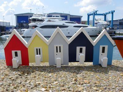 Nauticalia beach hut hooks
