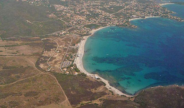 Spiaggia di la Playa nota anche come spiaggia di Pittulongu
