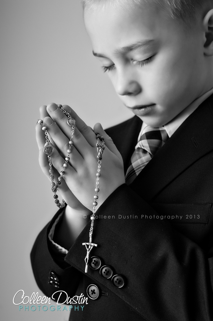 First Communion-Rosary