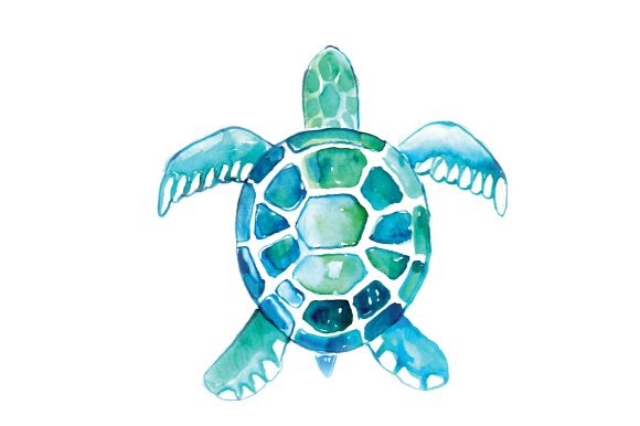 What is Sea Turtle SVG Format