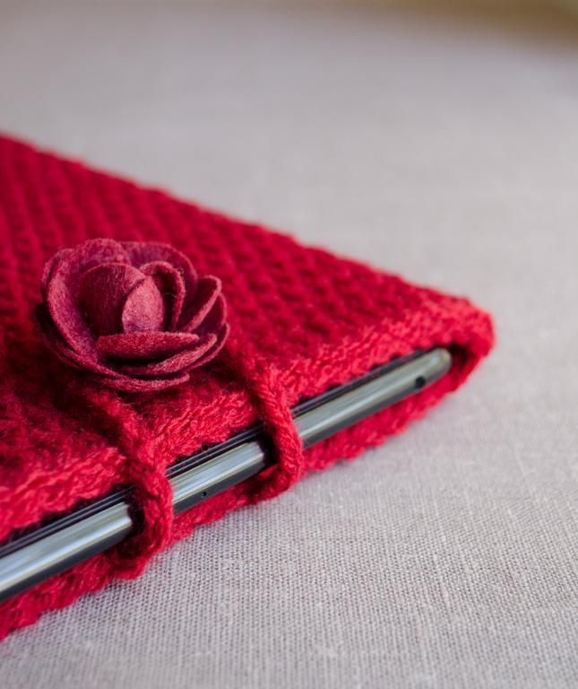 (4) Name: 'Crocheting : iPad Case iPad Cover Tablet Case