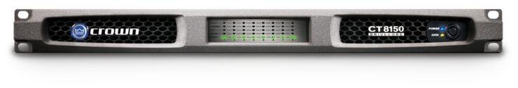 Crown Audio CT8150 8-Channel Rackmount Power Amplifier (150W/Channel @ 8 Ohms)