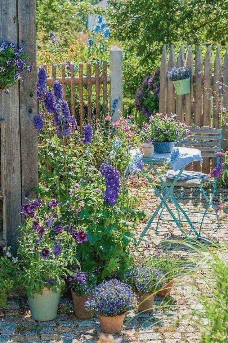 Gartendeko Gartendesign Gartenideen In 2020 Small Cottage Garden Ideas Cottage Garden English Cottage Garden