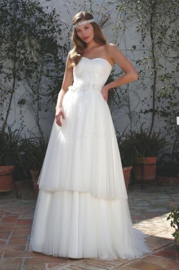Jiskra a záře Ramínka Empírové Svatební šaty 2013