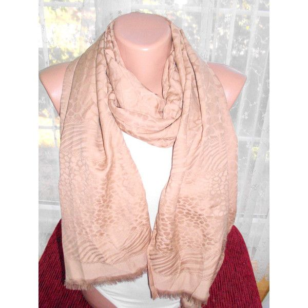 Champagne Shawls, Pashmina, Scarf, Wedding Favor, Bridal Shower Gift,... ($12) via Polyvore featuring accessories, scarves, bridal shawl, hijab scarves, wrap scarves, wrap shawl ve shawl scarves