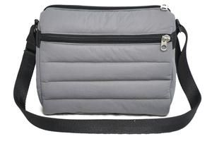 6c4699d5ac Puffer Sling Bag Gray
