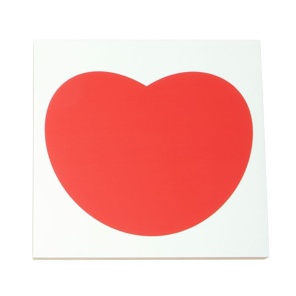 Heart note board and magnetic holder by Kotonadesign