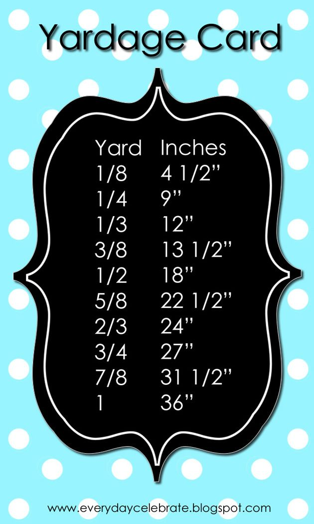 Free printable yardage card for wallet or big framed in craft room free printable yardage card for wallet or big framed in craft room a few cute colors to choose from reheart Images