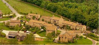 Purpose Built Emmerdale Village Set at Harewood, Yorkshire - Emmerdale