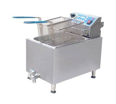Globe Food Equipment GPC16 Electric Countertop 2 Gal. Pasta Cooker