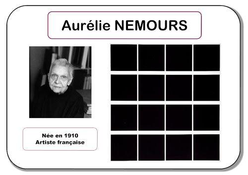 A- QUADRILLAGE/CARRÉ : Aurélie Nemours