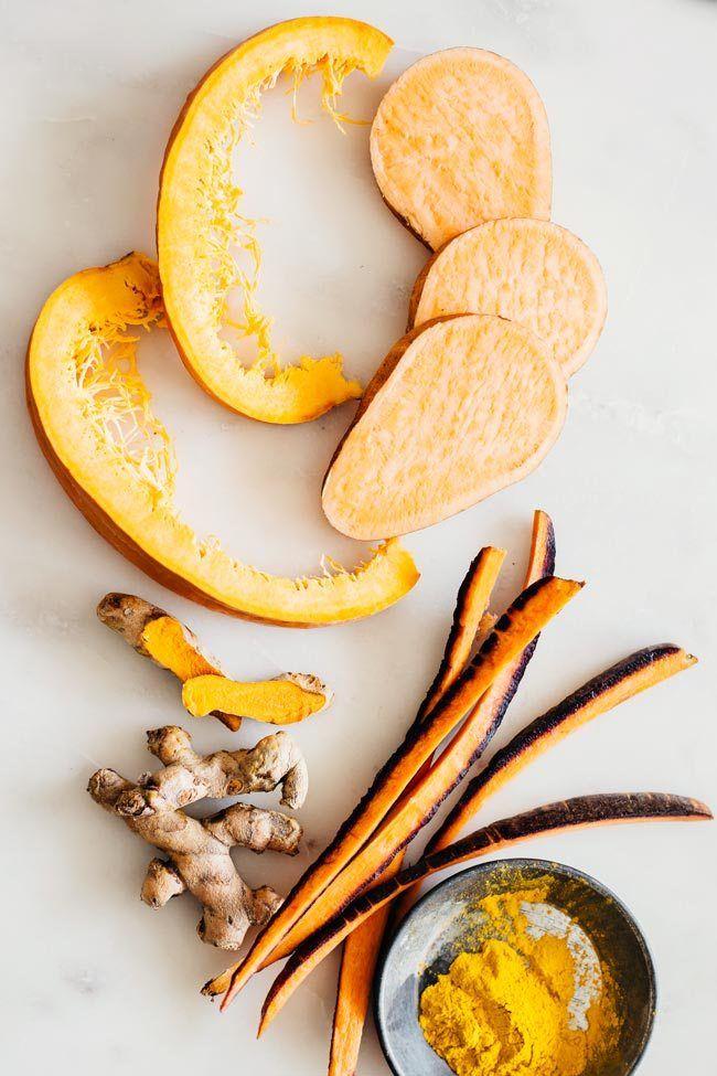 Orange Foods for Glowing Skin