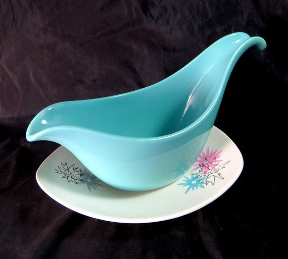 Retro Atomic Sauce/Gravy Boat Midwinter Modern Fashion by keepsies