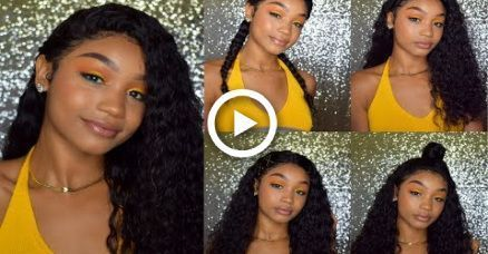 5 CUTE & EASY BACK TO SCHOOL HAIRSTYLES FOR CURLY/WAVY HAIR | FT LAVY HAIR