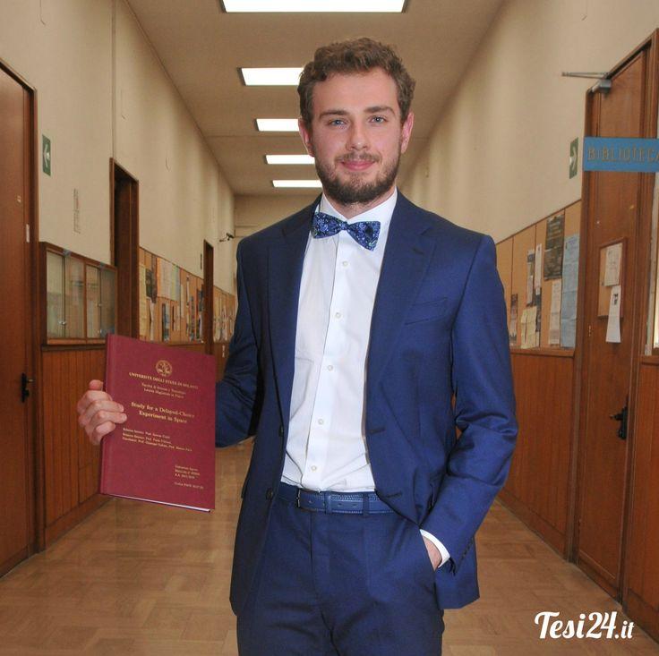 Congratulazioni Costantino!