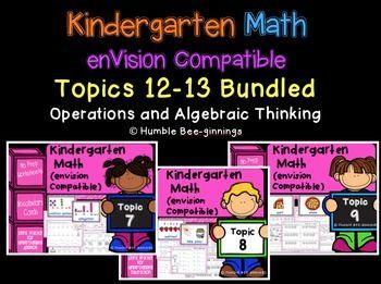 Kindergarten Worksheets » Envision Math Kindergarten Worksheets ...