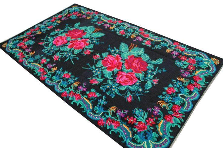 kelim 312cm x 188cm uit Moldavië | Rozenkelim.nl – Groot assortiment Kelim tapijten | Rozenkelim.nl - Groot assortiment kelim tapijten