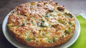 FITNESS brokolicová torta bez múky | Báječné recepty