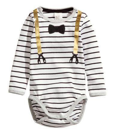 H m white dress shirt baby