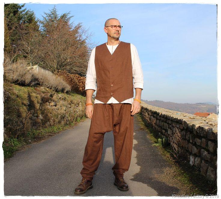 Zen baggy harem pants for men - sarouel baggy homme